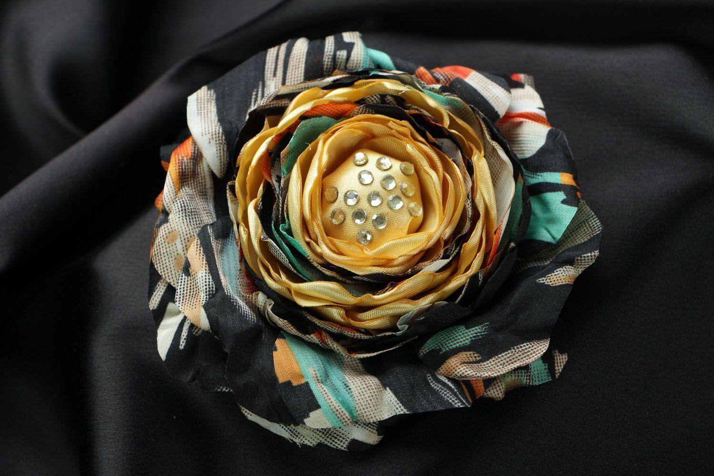 Silk brooch photo 1