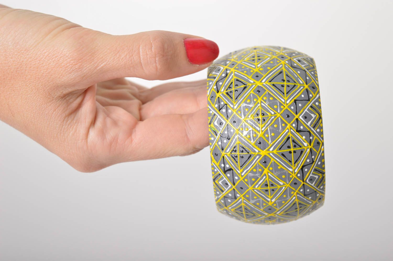 Handmade Holz Armband handgemachter Schmuck Damen Armband im Ethno Stil schön foto 6