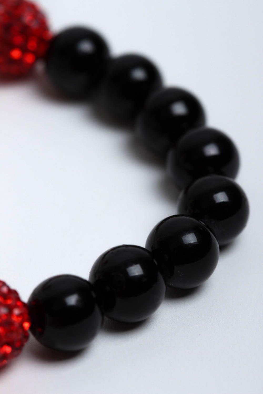 Handmade beaded bracelet accessories with natural stones designer jewelry photo 4
