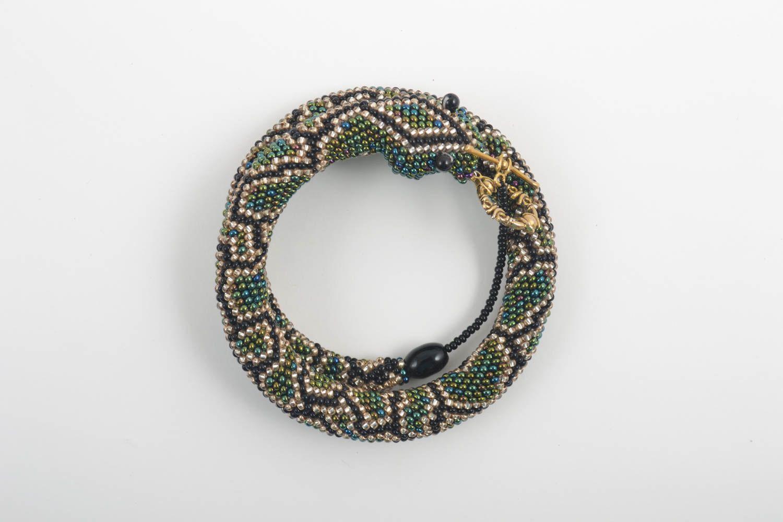 Handmade beautiful beaded jewelry cute designer bracelet wrist bracelet photo 3