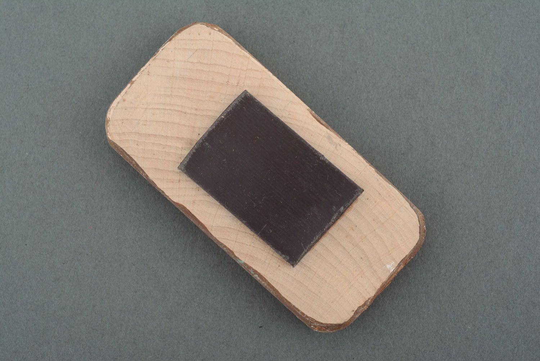 Wooden fridge magnet Pine Forest photo 2
