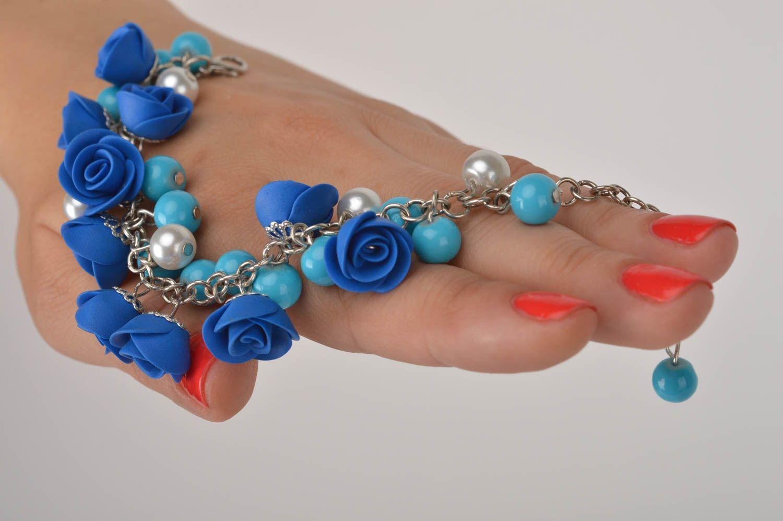 pulseras de arcilla polimérica Pulsera hecha a mano de arcilla polimérica bisutería artesanal regalo original ,