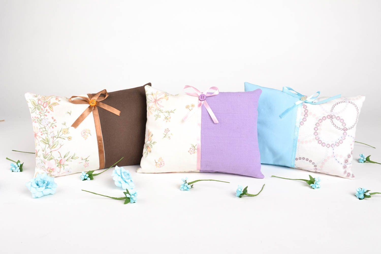 Homemade home decor decorative pillows scented sachets 3 sachet bags gift ideas photo 1