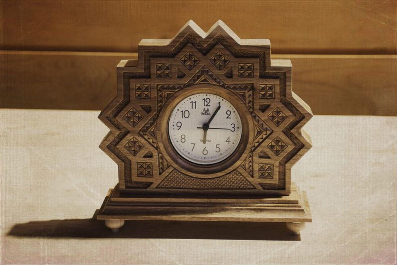 Часы из дерева своими руками фото и