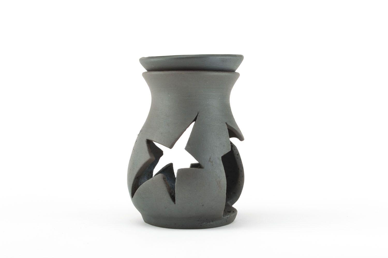 Ceramic oil burner Stars photo 1
