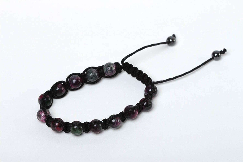 Handcrafted jewelry bead bracelet gemstone jewelry womens accessories photo 2
