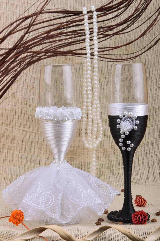 Как сделать бокал для невесты