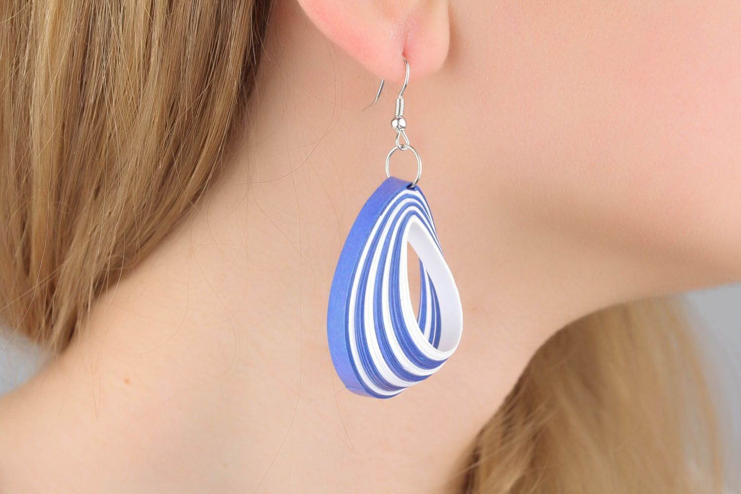Oval earrings photo 1