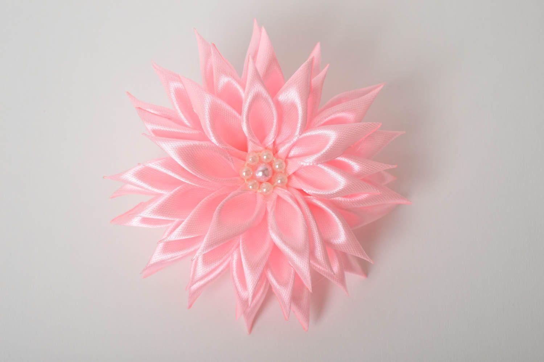 Украшение на голову ручной работы резинка с цветком украшение для волос фото 2