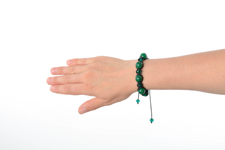 gemstone bracelets Malachite Bracelet - MADEheart.com
