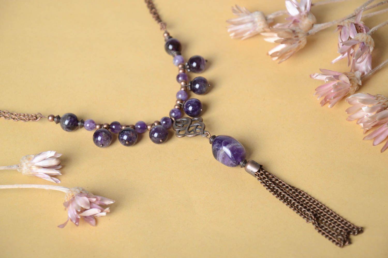 a9126878fd10 collares de piedras naturales Collar de piedras naturales hecho a mano  bisutería elegante accesorio de mujer