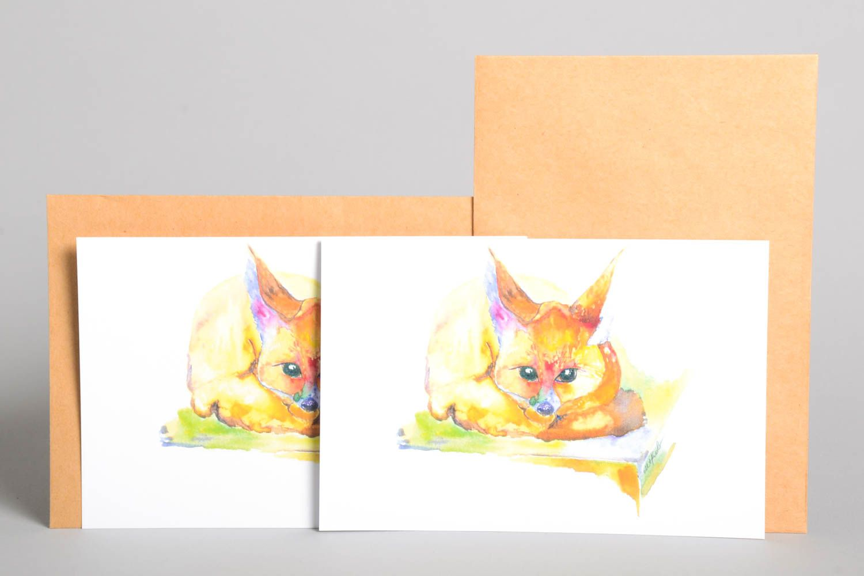 Handmade card unusual greeting card designer card for signature gift ideas photo 2