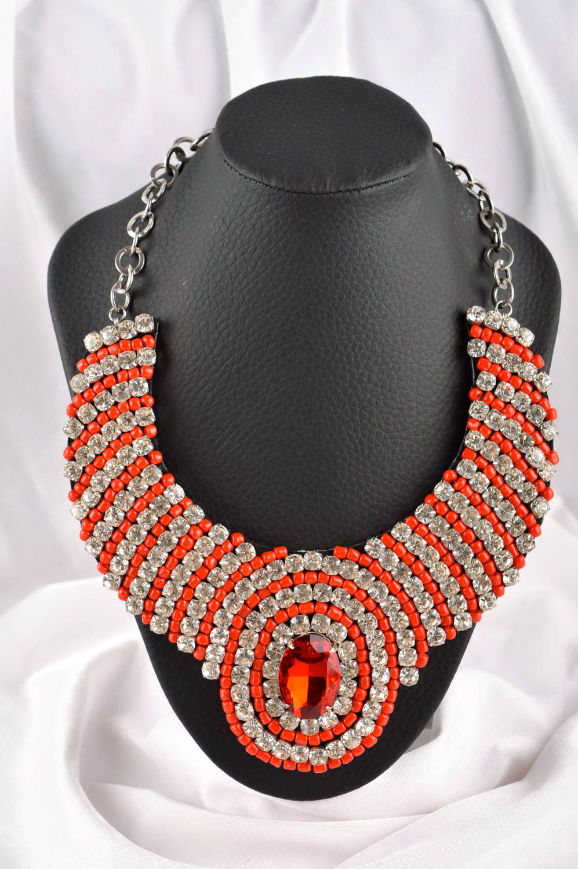 collier perle fait maison