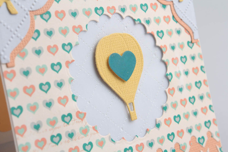Handmade greeting card photo 4