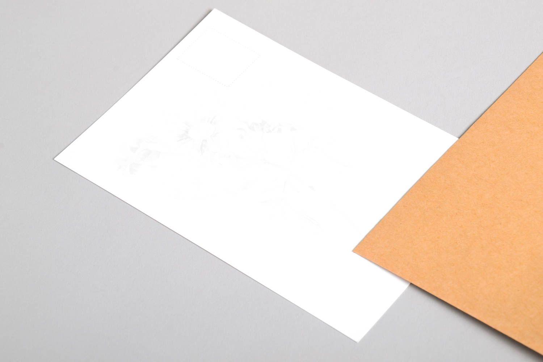 Handmade greeting card souvenir ideas designer postcard paper greeting card photo 3