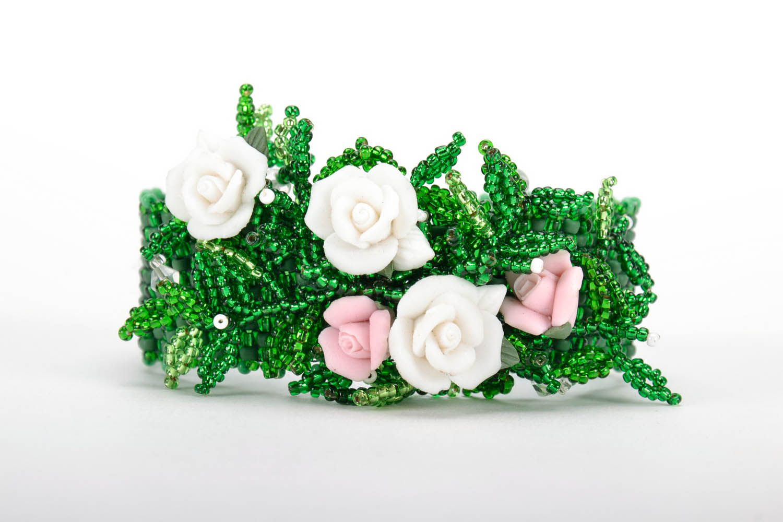 Bracelet made of Czech beads photo 4