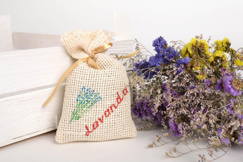 Handmade home decor sachet bag lavender sachet aroma therapy scented sachet photo 1