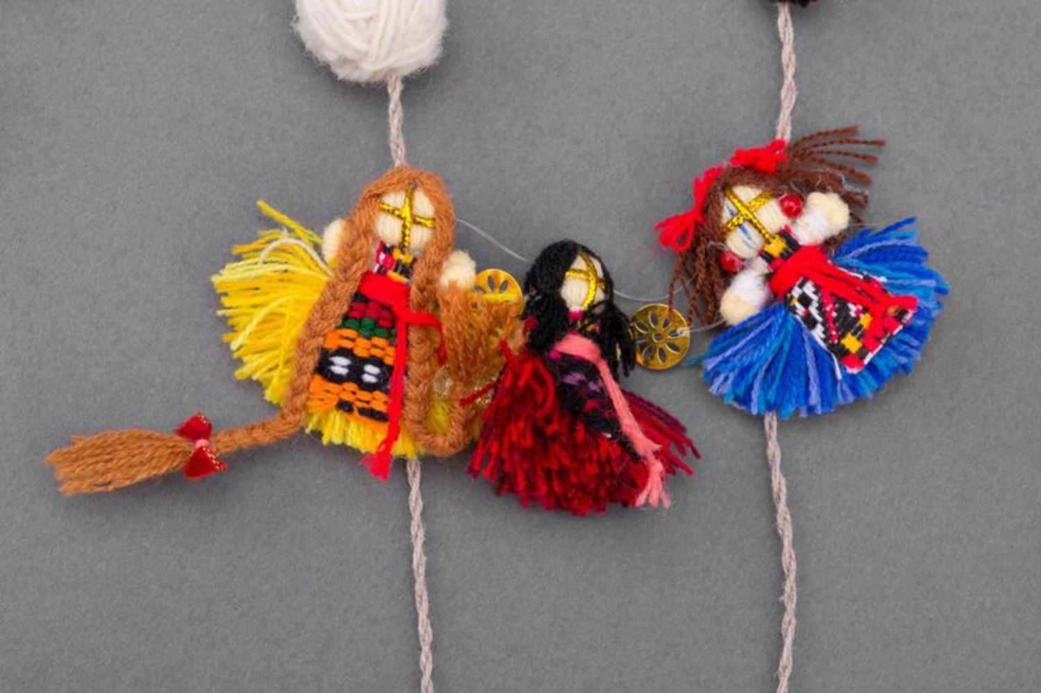 Set of adornments in ethnic style photo 5
