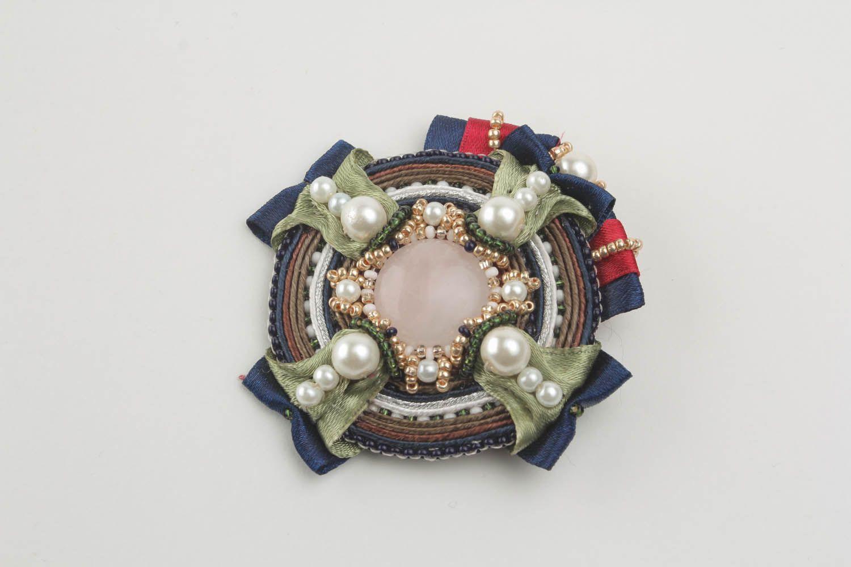 Soutache brooch decoration photo 4