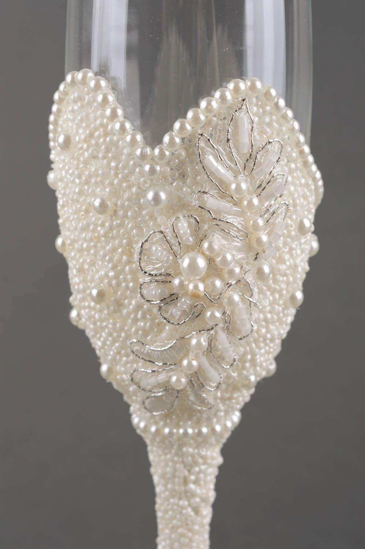 Handmade Wedding Glasses 2 Pieces Decorative Glass Ware Wine Glass Gift Ideas