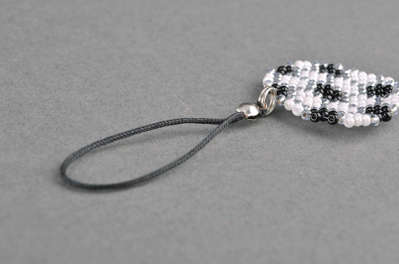 keychains Beaded thumb, manually braided