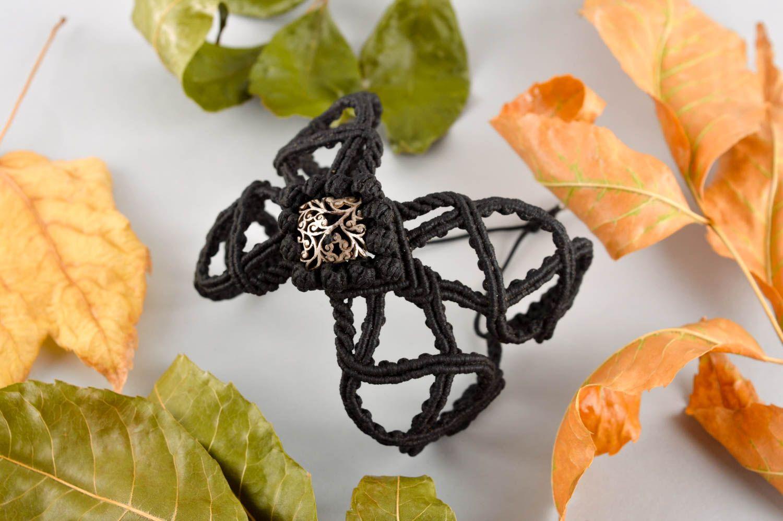 Handgefertigt Makramee Armband ausgefallenes Geschenk Accessoire für Frauen  foto 1