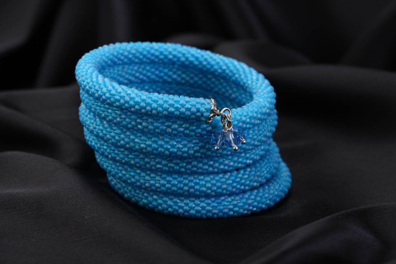 Multi-row beaded bracelet photo 1