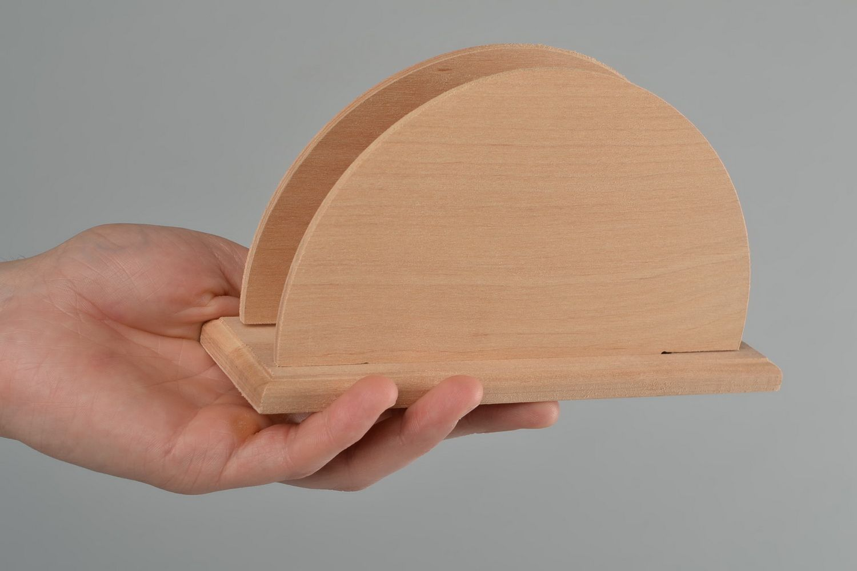 Madeheart servilletero de madera para decorar o pintar - Madera para pintar ...