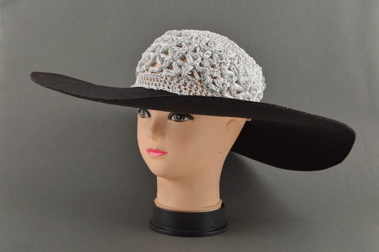 headwear Handmade women hat designer headwear unusual gift ideas handmade summer hat - MADEheart.com