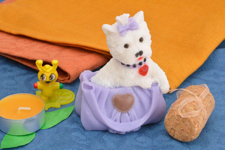 Handmade designer cute soap unusual natural cosmetics aromatized soap photo 1