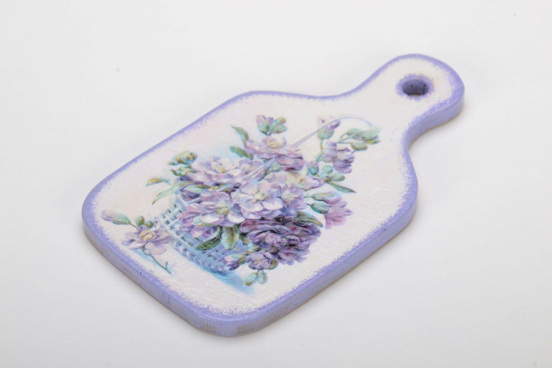 Fridge magnet in Provence style Flower Basket photo 3
