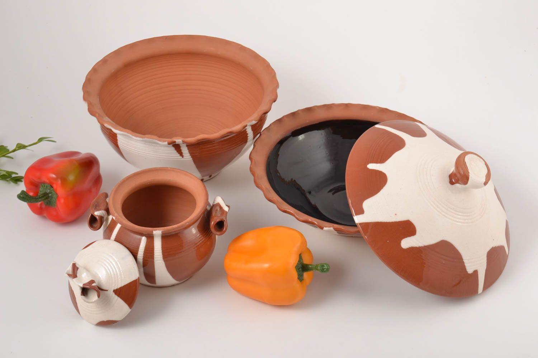 MADEHEART > Handgemachte Keramik Geschirr Set Küchen Accessoires für ...
