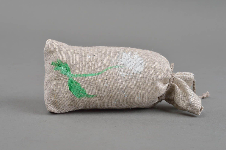 Soft textile sachet sack handmade souvenir for home cute interior details photo 2
