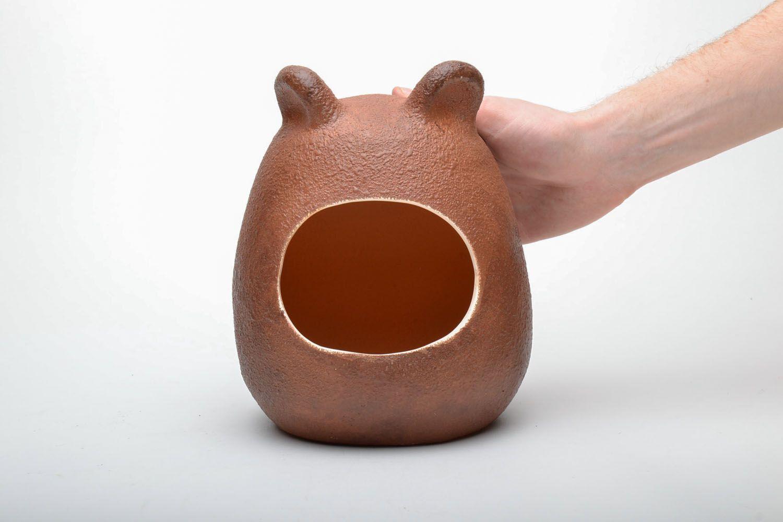 Ceramic bath for chinchilla photo 5