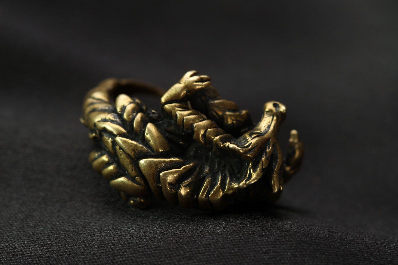 Bronze ring Dragon photo 4