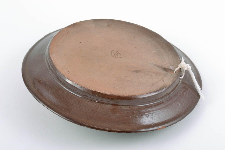 Small Decorative Plates Madeheart Unusual Small Handmade Decorative Clay Wall Plate Of