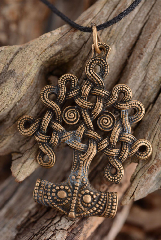 Bronze pendant Tree of Life photo 2