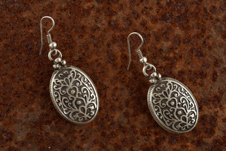 Ohrringe aus Metall Byzanz foto 4