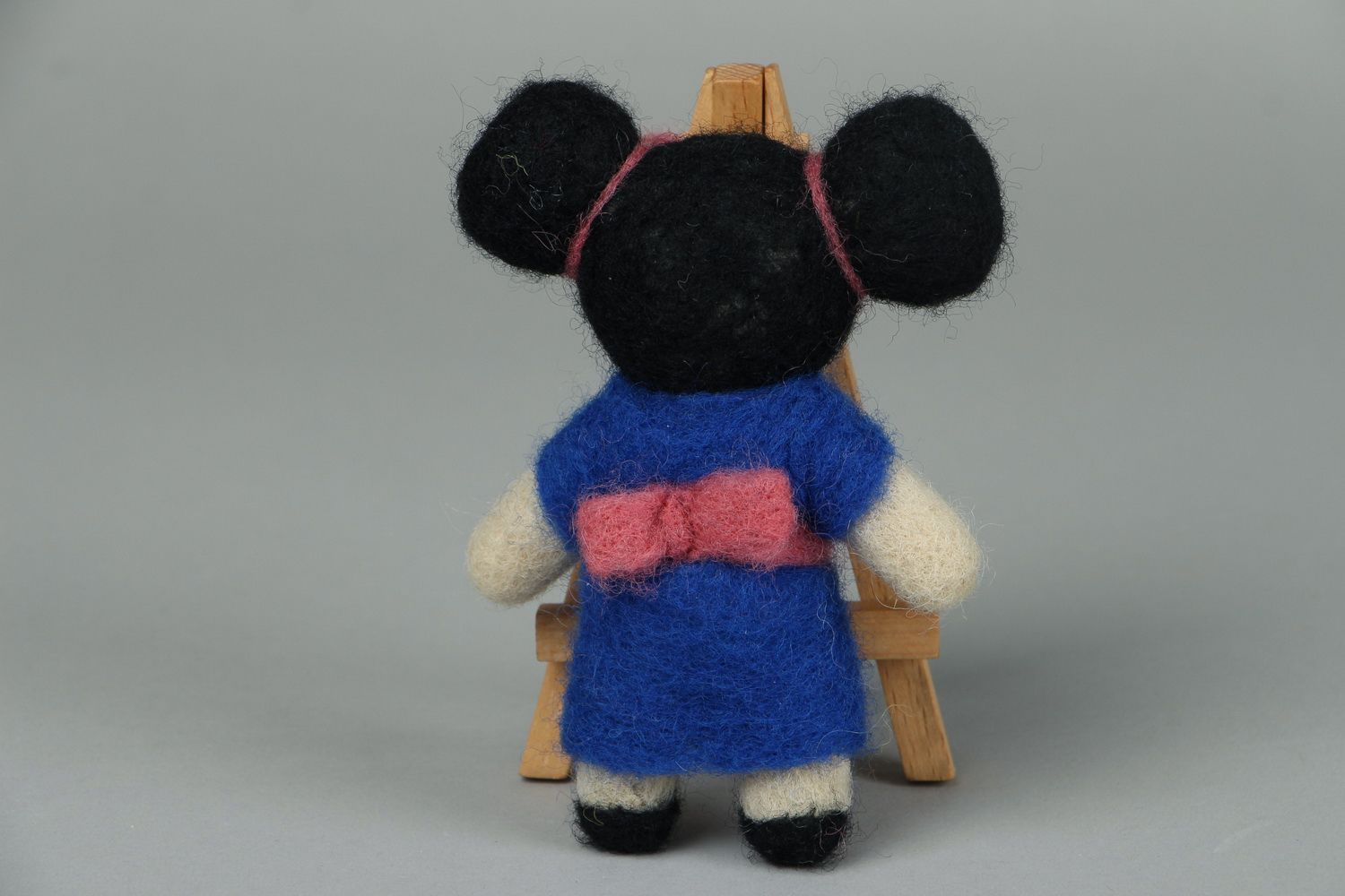Designer's toy made of wool Japanese photo 3