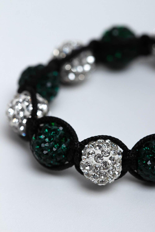 Handmade jewelry designer bracelet beaded bracelet fashion accessories gift idea photo 6