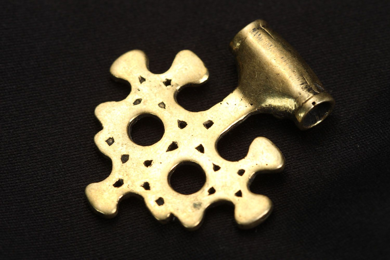 Bronze pendant charm Yggdrasil photo 3