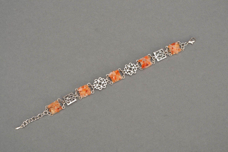 Enges Armband aus Carnelian foto 3