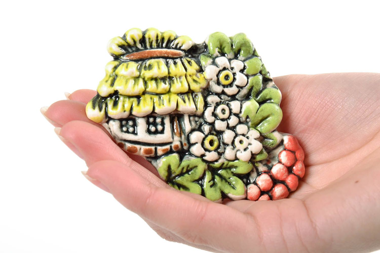 Ceramic fridge magnet photo 2