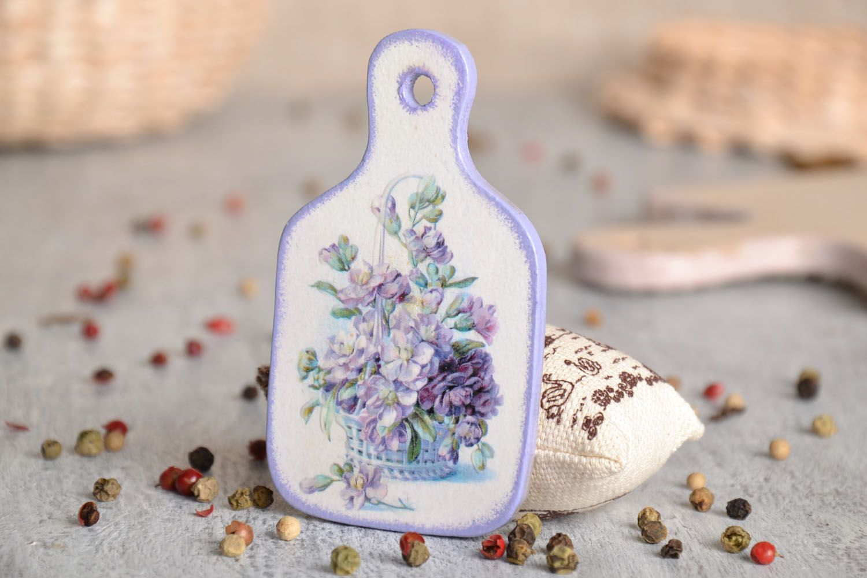 Fridge magnet in Provence style Flower Basket photo 1