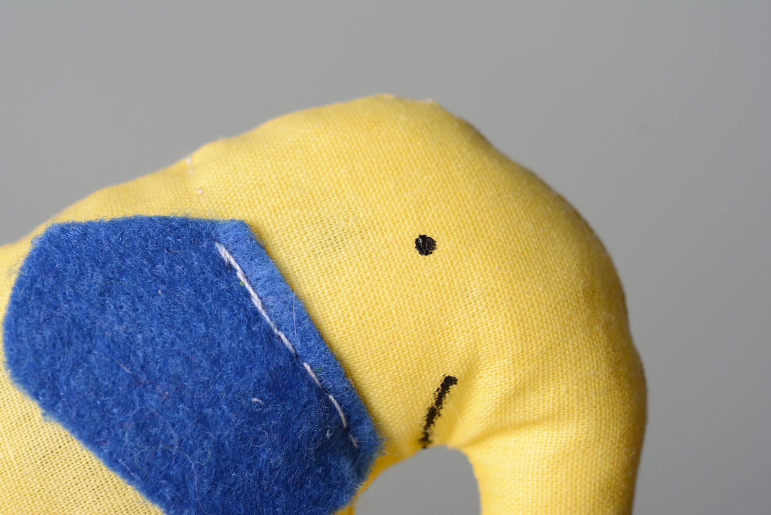 Textile toy Elephant Biscuit photo 2