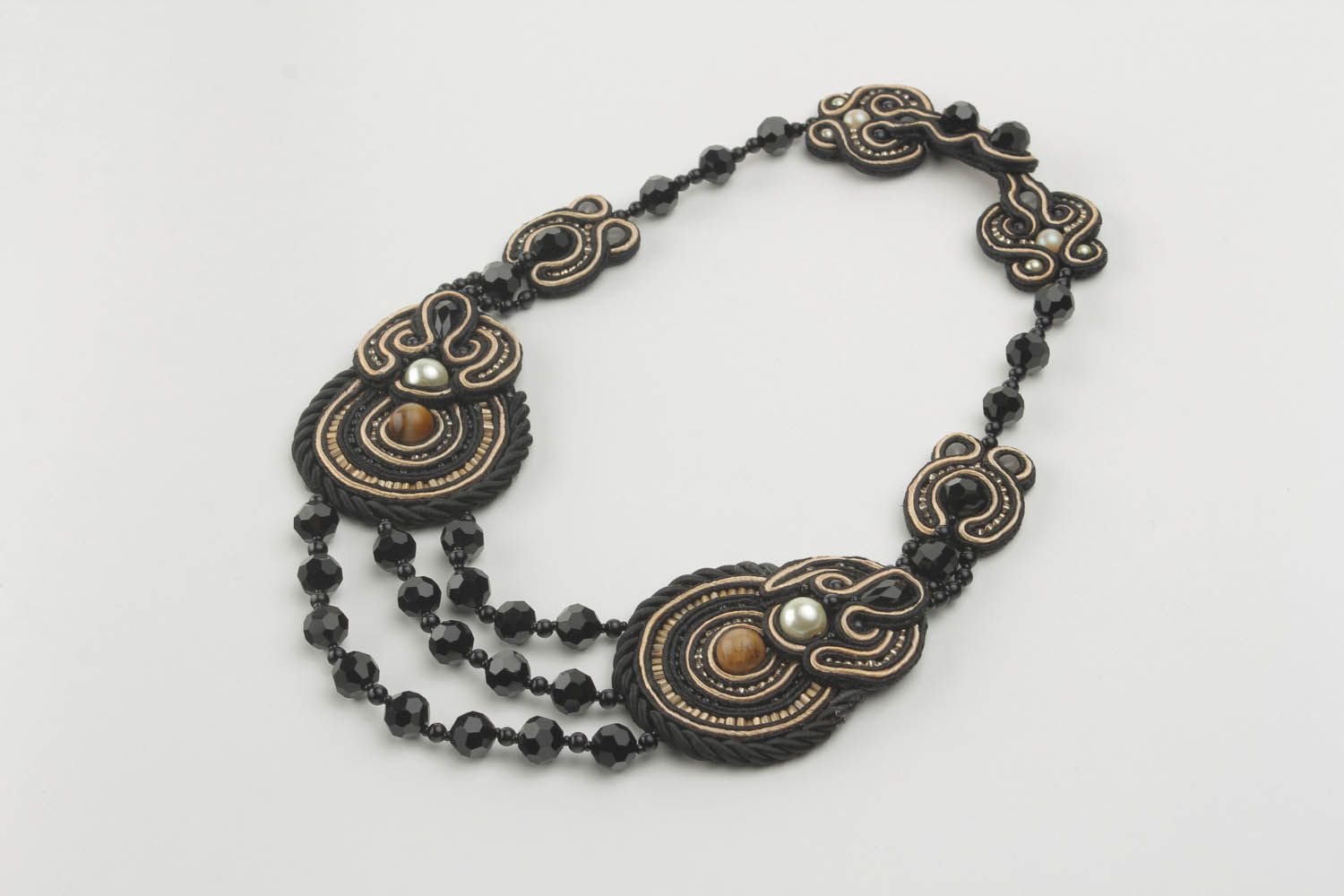 Soutache necklace  photo 4