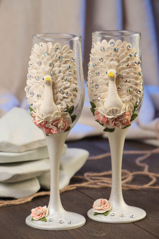 Madeheart copas para boda originales hechas a mano for Copas decoradas a mano