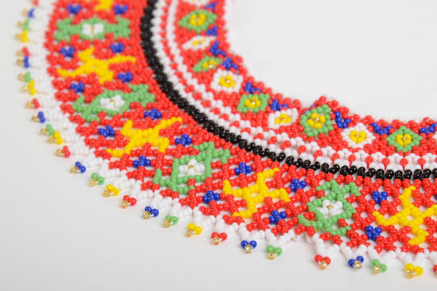 Beaded necklace handmade jewelry fashion necklaces for women designer jewelry photo 3