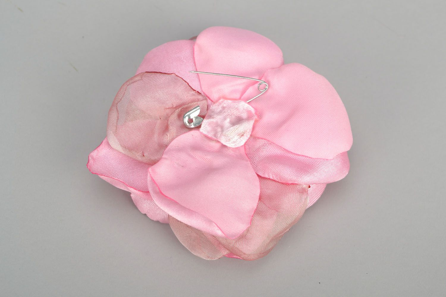 Author's brooch Delicate Rose photo 5