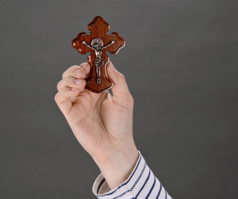Orthodox wall cross photo 5
